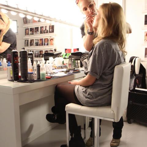Makeup Bereich